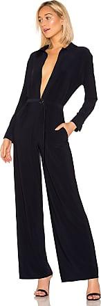 Norma Kamali x REVOLVE Shirt Straight Leg Jumpsuit in Navy