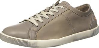 Softinos Mens Tom Low-Top Sneakers, Beige (Taupe), (46 EU), 12 UK