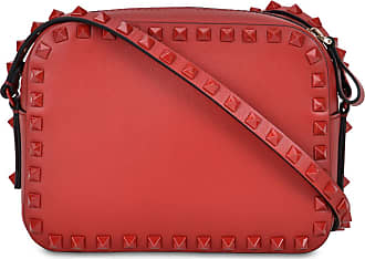 Valentino Borsa a tracolla Rockstud rossa