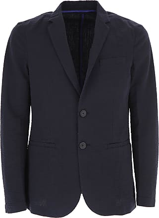 Emporio Armani Giacca Blazer da Uomo On Sale in Outlet 89f214bfb04
