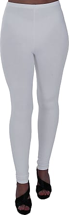 Eyecatch Oversize - Kaira Womens Plus Size Stretch Ladies Trousers Leggings Full Length Pants White Size 20/22