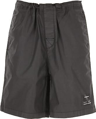 Marcelo Burlon Shorts for Men On Sale, Black, Cotton, 2019, 30 31 32 33