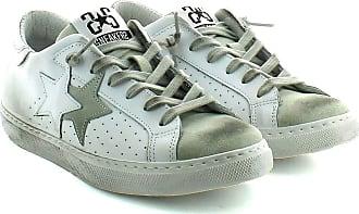 2Star Sneakers traforata Bianca. 7 White