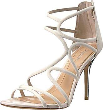 Imagine Vince Camuto Womens Ranee Heeled Sandal Ivory 11 Medium US
