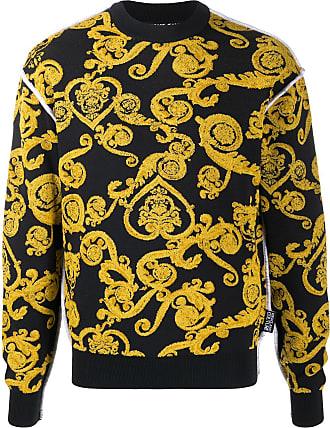 Versace Jeans Couture Moletom com estampa barroca - Preto
