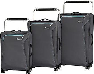 IT Luggage Worlds Lightest Accent 8 Wheel 3 Piece Set, Quiet Shade