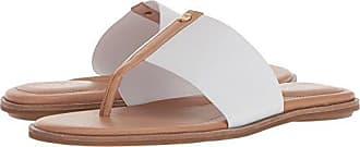 f85794e8dc7 Taryn Rose Womens Kamryn Vachetta Flat Sandal White 9.5 M M US