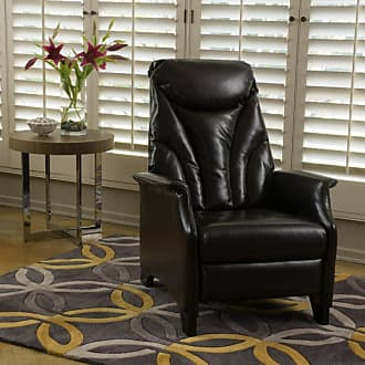 BEST SELLING HOME LLC Johnson Leather Recliner Espresso - 298402