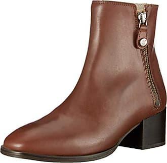 72b344d7b27da Marc O Polo Mid Heel Bootie, Bottines Femme, Rot (Rust 341)