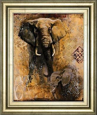 Classy Art Wild Kingdom III Framed Wall Art - 8325