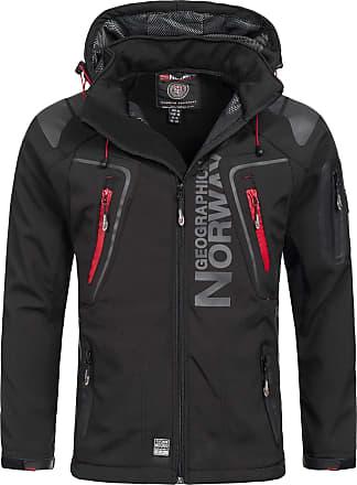 Geographical Norway Jacket Men Dresses Black, Size:XXL