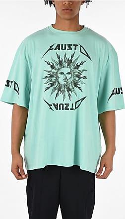 FAUSTO PUGLISI T-shirt Oversized con Stampa taglia L