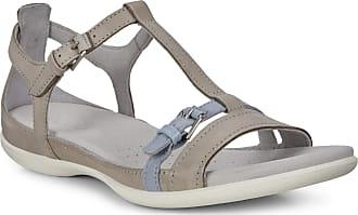 Ecco Womens Summer Buckle Sandal, Wild Dove/Dusty Blue, 7-7.5