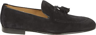 Doucal's Suede Tasselled Loafers, 41.5 Dark Blue
