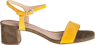 Unisa sandalo tacco basso, 39 / giallo
