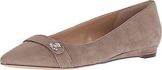 127ced1d37e Ralph Lauren Lauren Ralph Lauren Womens Aminah Loafer Flat Beige Khaki 8.5  B US