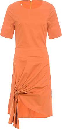 Wymann Vestido Raio - Laranja