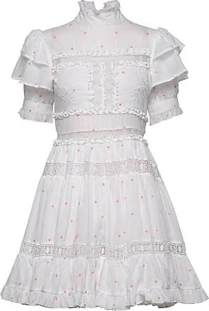By Malina Iro Mini Dress Kort Klänning Vit By Malina