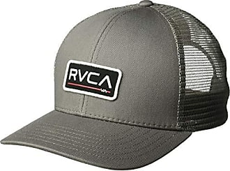 Rvca Mens Ticket Trucker Hat, Grey, One Size