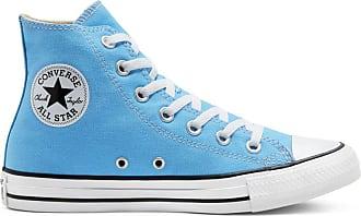 converse bleu azur