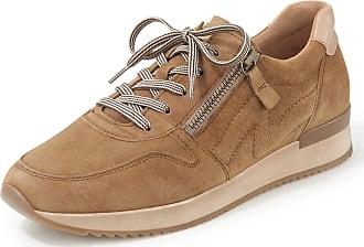 Gabor Sneakers made of kidskin suede Gabor brown