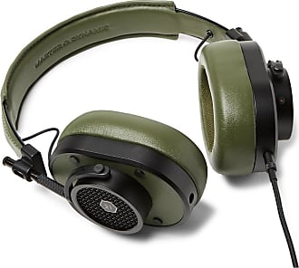Master & Dynamic Mh40 Leather Over-ear Headphones - Army green