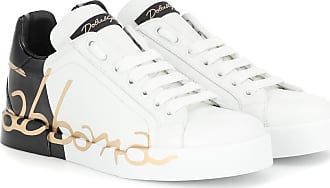 Dolce \u0026 Gabbana Sneakers in pelle con stampa