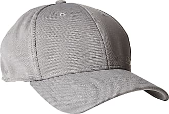Oakley Mens Silicon O-Cap Baseball Cap - Gray - Large-X-Large