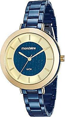 Mondaine Relogio Mondaine Feminino Ref: 99172lpmvle3 Fashion Azul