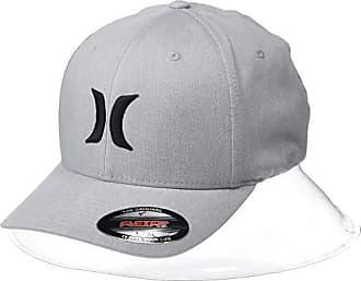 Hurley Mens Black Textures Hat, Cool Grey Heather, S-M