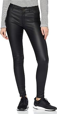 Jacqueline de Yong Womens Jdythunder Skinny Reg Coated PNT Noos Trouser, Black (Black Black), 38 /L32 (Size: Medium)