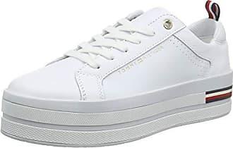 Tommy Hilfiger virginia 5a, scarpe da ginnastica donna, beige (white ybs), 38 eu
