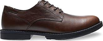 Wolverine Mens Bedford Steel-Toe Oxford SR Industrial Shoe, Brown, 7.5 Extra Wide US