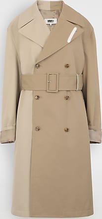 Maison Margiela Bi-tonal Trench Coat