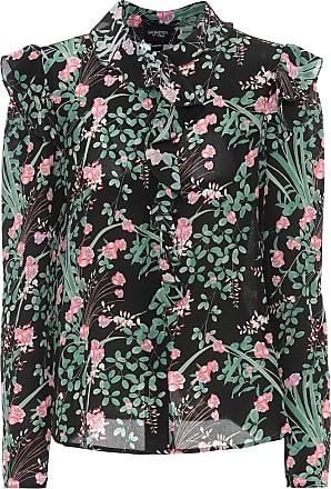 Giambattista Valli Floral silk crêpe de chine blouse