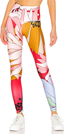 Onzie High Rise Graphic Legging in Pink