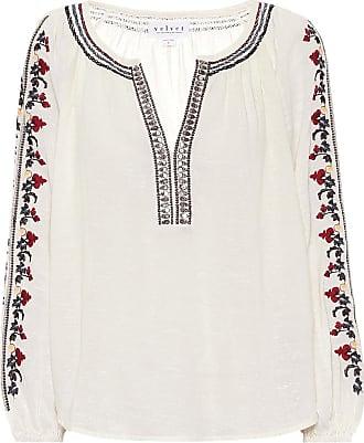 Velvet Hunter embroidered blouse