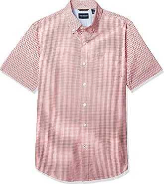 Dockers Men/'s Short Sleeve Button Down Comfort Flex Shirt X-Large Delft Blue