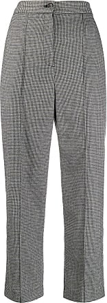 Hussein Chalayan Pantaloni crop con stampa - Di colore nero