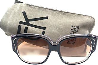 45b8e1b16ce3 1stdibs New Vintage Emanuelle Kahn Paris Rhinestones Accents Black  Sunglasses France