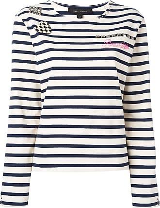 Marc Jacobs Camiseta listrada Breton - Branco