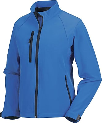 Russell Athletic New Russell Collection Womens Softshell Jacket Full Zip Breathable Coat Jackets 3XL Classic Red