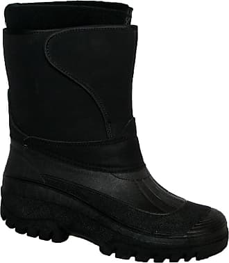 Groundwork New Mens Horse Riding Yard Waterproof Stable Walking RAIN Snow Winter SKI Warm Farm Mucker Boots Black 11