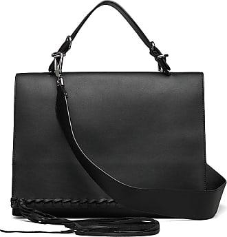 Calvin Klein Fringe Satchel Bags Small Shoulder Bags - Crossbody Bags Svart Calvin Klein