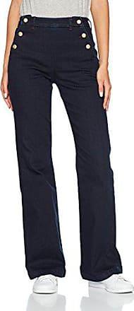 b05de262dd8 Bonobo FIDJI-2PONT Jean Bootcut Femme Bleu (Bleu) W26 (Taille Fabricant