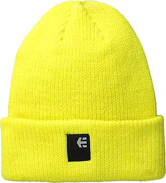 Etnies Mens Classic Beanie, Lime, One Size