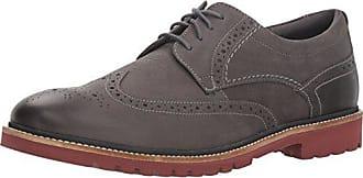 Rockport Mens Marshall Wing Tip Shoe, castlerock grey, 9 M US