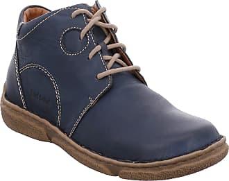 Josef Seibel Women Ankle Boots Neele 46, Ladies Lace-up Ankle Boot, Boots,Half Boots,Laced Bootie,Blue(Ocean),38 EU / 5 UK