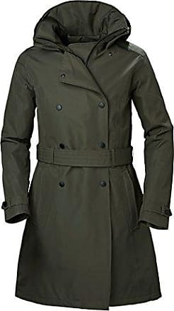 Helly Hansen W Welsey Trench Insulated, Manteau Femme, Vert (Verde 482), deb4276ddbd2