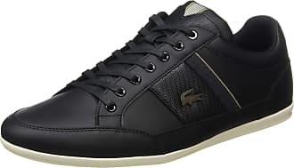 Lacoste Mens Chaymon 319 1 CMA Trainers, Black (Black/Khaki 2h5), 10.5 UK